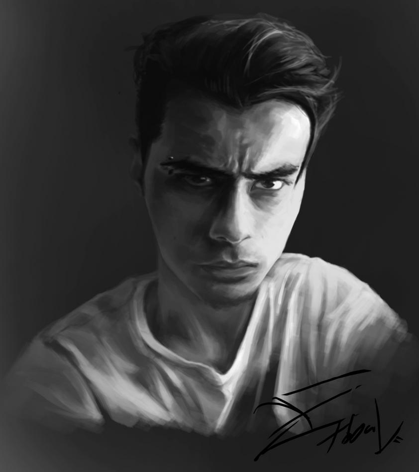 Self Portrait 29/01/2015 by Tobal-gz