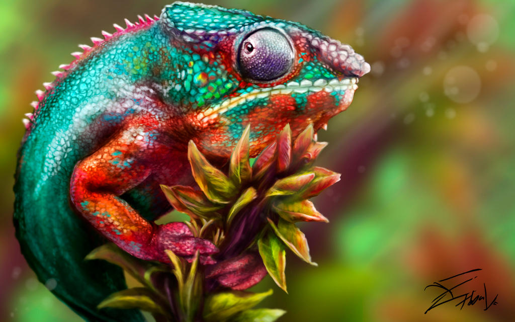 Chameleon by Tobal-gz
