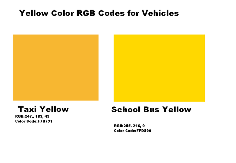 yellow color code