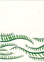 Crawling vines card