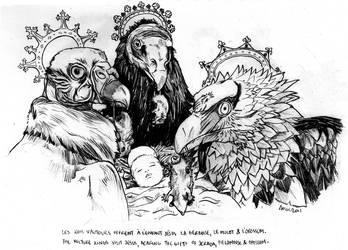 Christmas' Vulture Kings by KoreaRailroads