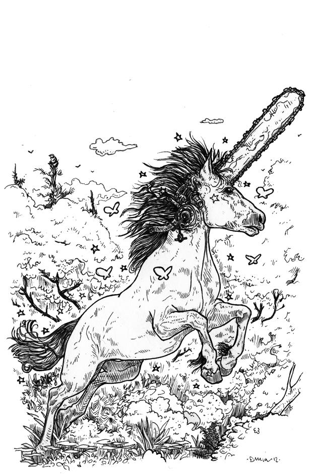 Chainsaw-Unicorn by KoreaRailroads