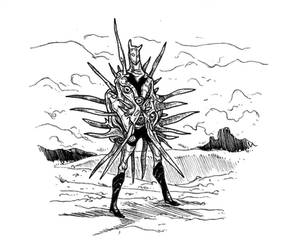A weird armor