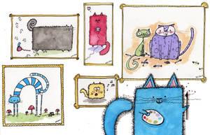 Whisker's Cat Gallery by BenCPanda