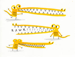 gator guys by BenCPanda