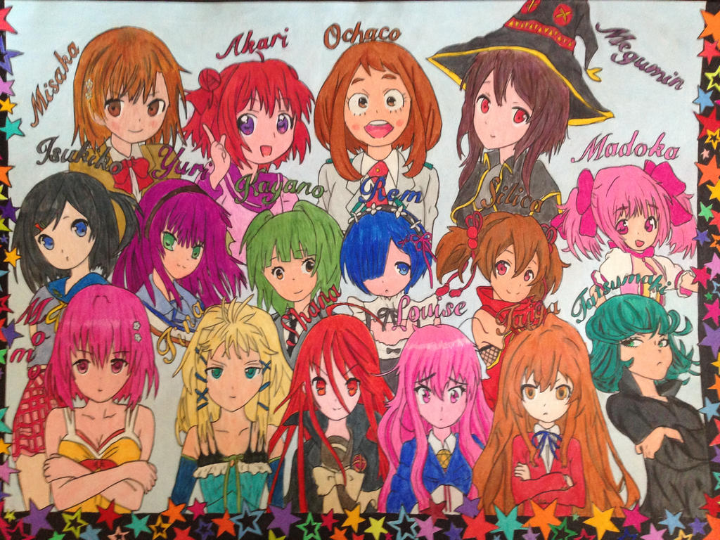 Anime World by Masa1989