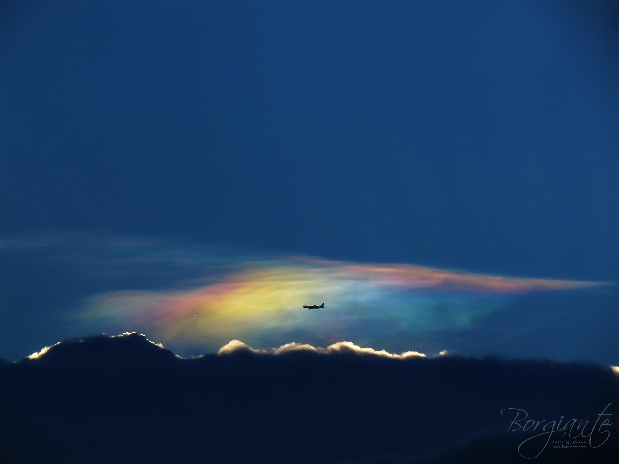 Day 57 (Iridescent clouds) by emmanuelborja