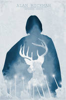 Alan Rickman - Severus Snape by EdenWolves