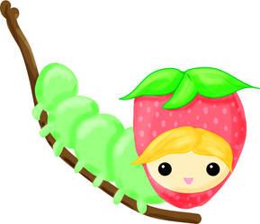 Strawberry Caterpillar Girl..?