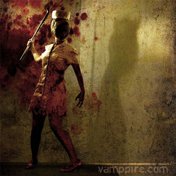 Silent Hill Nurse - Cosplay by Vamppy