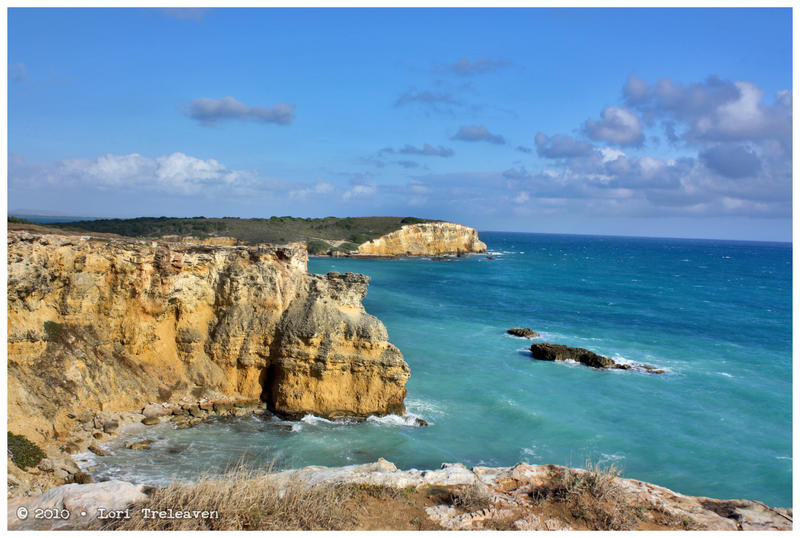 Cabo Rojo Lighthouse Cliffs 2 by Vamppy