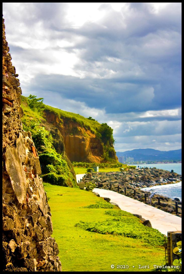 Landscape By El Morro by Vamppy