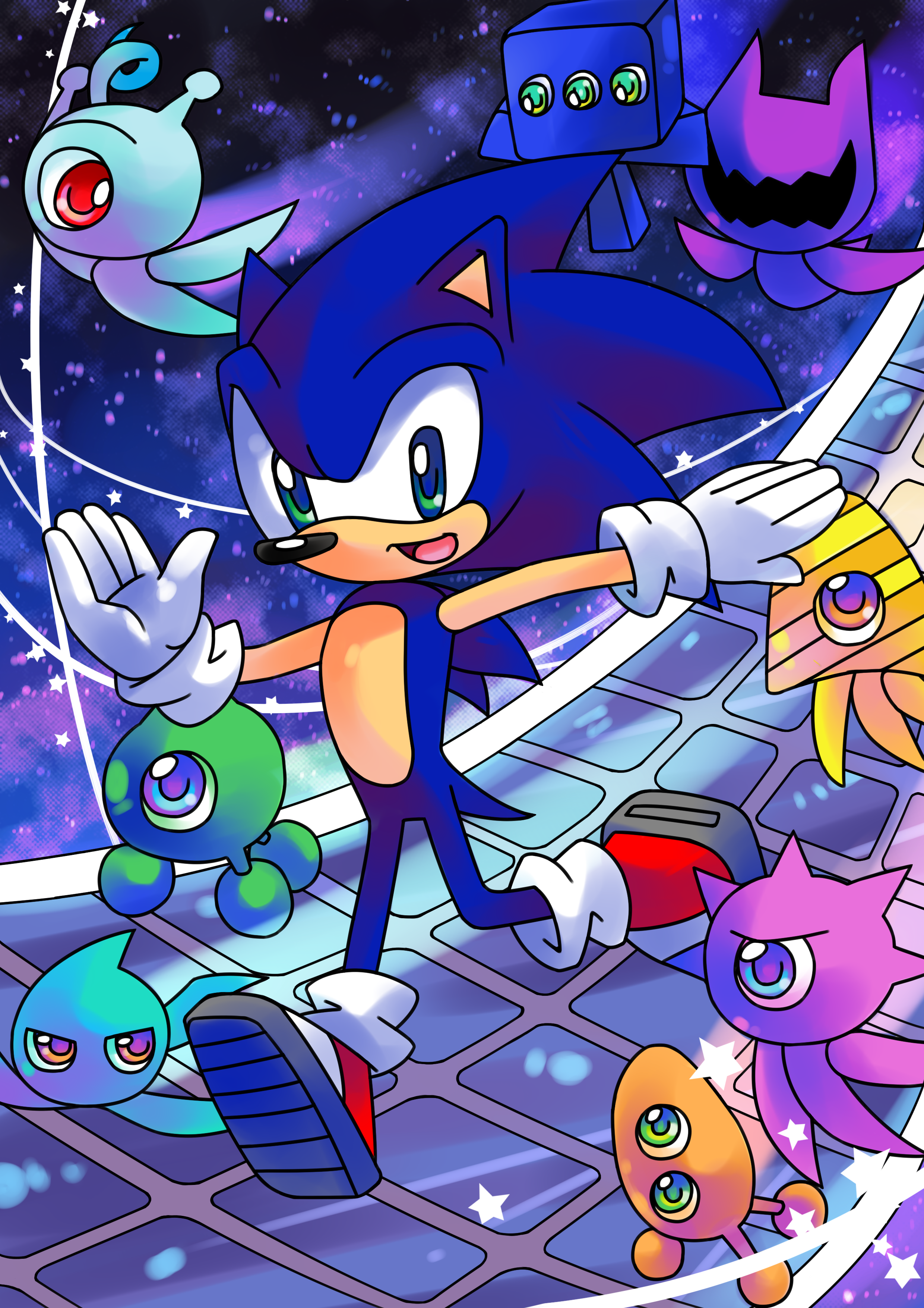 Space tutorial sonic colours by crystal ribbon on deviantart for Space tutorial