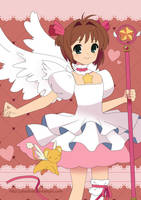 Cardcaptor Sakura and Kero by Crystal-Ribbon