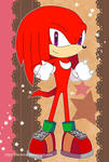 Sonic Postcard - Knuckles