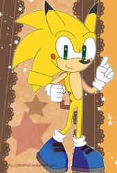 Sonic Postcard - SONICHU by Crystal-Ribbon