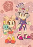 Sonic Poster Cream and Blaze