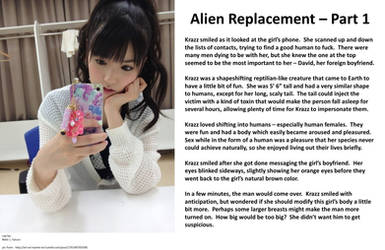Alien Replacement Part 1 by Nebula11