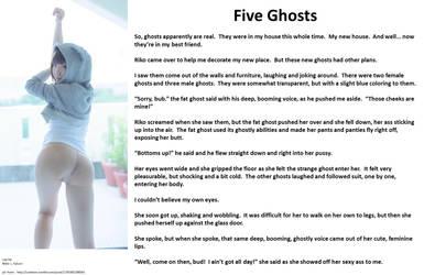 Five Ghosts by Nebula11
