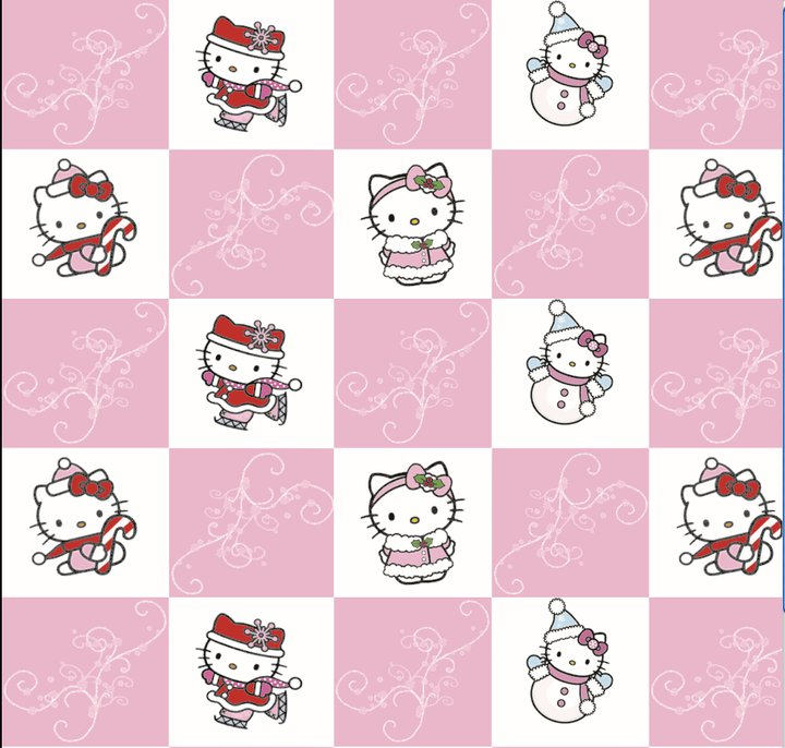 Hello Kitty Wrapping Paper By Darkenedlust On Deviantart