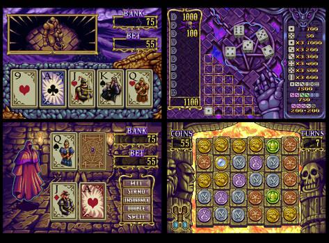 Knight's Chance - mini games