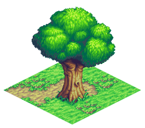 Isometric tree.