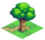 Isometric tree.