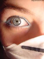 eye in blue by SaligiaStock