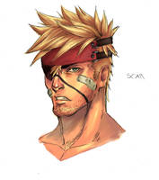 scar new face design by AbsolumTerror