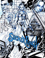 Sucker Punch sketch by AbsolumTerror