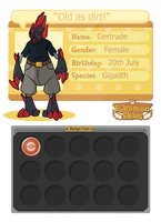 Pokemon Skies: Gertrude App by DekoLamp