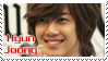 Kim Hyun Joong stamp by Ludamory