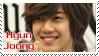 Kim Hyun Joong stamp by Ludamory