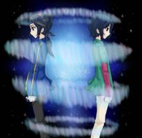 DGMN F4 - Twins by LindaVonree