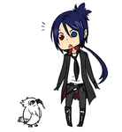 KHR - Mukuro and Owl
