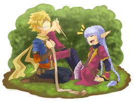 Golden Sun - That tickles by LindaVonree
