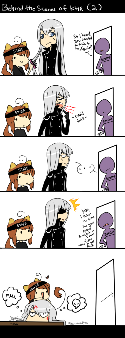 KHR - Behind the scenes Part 2 by Rika-Wawa
