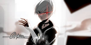 Nier Automata - 9S at The Tower