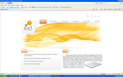 IOD DESIGN WEB PAGE by LuLalah
