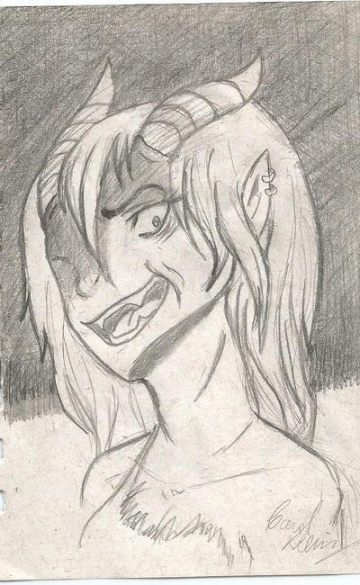 Insane demon girl by Duquess-Sabrina1992