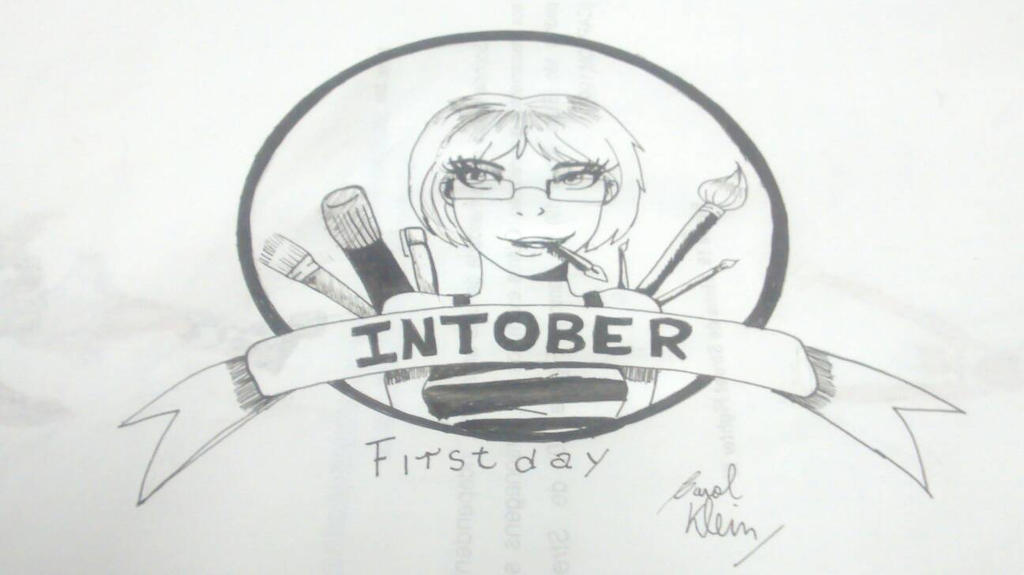Inktober - First day by Duquess-Sabrina1992