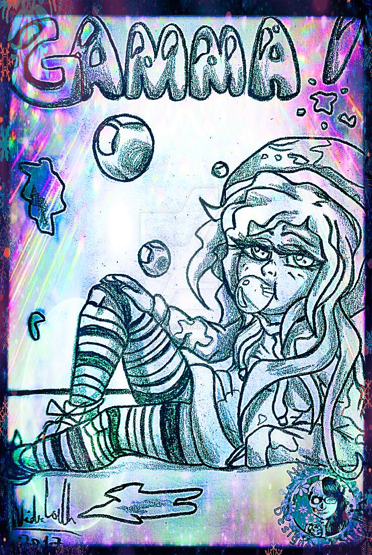 TFM OC - Gamma - Human Version by NadiaCoelho