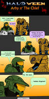 Arby n' the Chief #4 - Happy Halo-ween