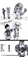 An inferiority complex? - Coco n' Nina Sketch