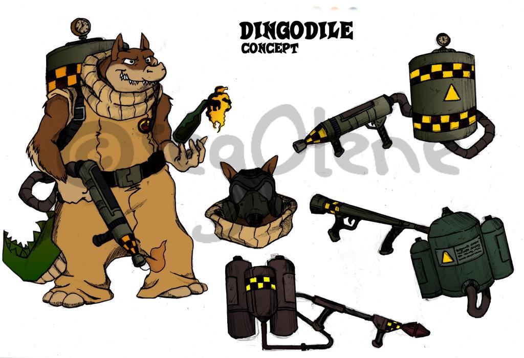 Dingodile (concept) by seg0lene