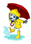 [CB] Yellow raincoat Nina