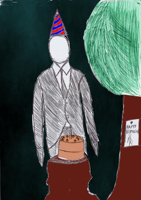 Happy Birthday Slenderman by ShadowsOfCobalt on DeviantArt