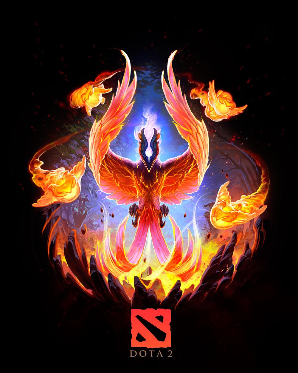 phoenix dota 2 chibi-#9