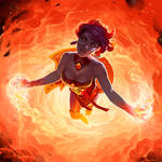 Lina - Fire Vortex