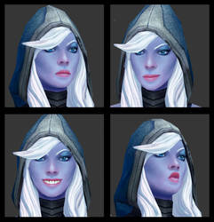 Drow Ranger from Dota 2 (re-textured)